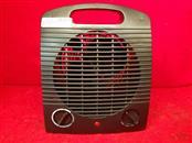 Comfort Zone CZ35BKDG Electric Fan Heater - Black - 1500 Watts